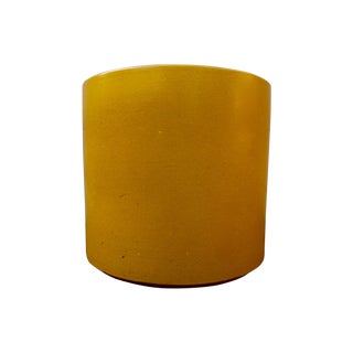 Mustard Yellow Gainey Ceramic Planter Pot