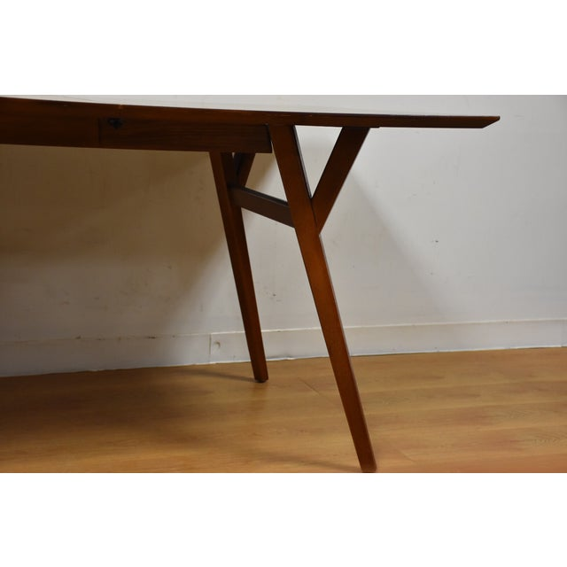 Walnut Dining Table - Image 4 of 11