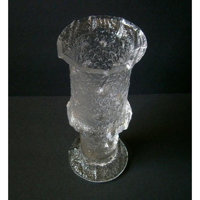 1968 Iittala Nardus Glass Vase by Timo Sarpaneva - Image 3 of 5