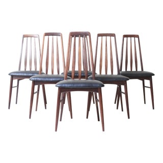 Niels Koefod Rosewood Eva Chairs - Set of 6