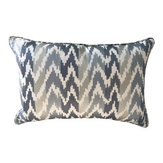 Lee Jofa Embroidered Accent Pillow