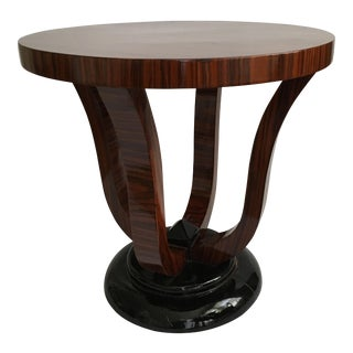 European Art Moderne Side Table
