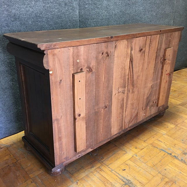 Brown Wooden Six Drawer Credenza - Image 6 of 7