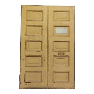 Five Panel Double Doors - A Pair