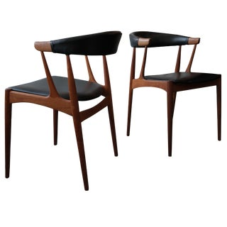 Danish Modern Horn Chairs - Pair