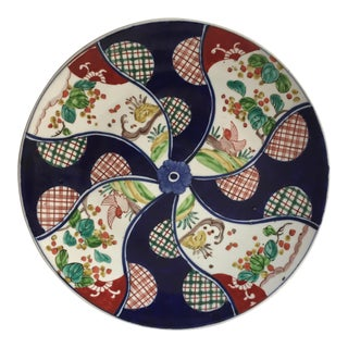 "Antique 13"" Japanese Imari Porcelain Charger"