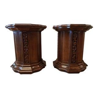 Drexel Mid-Century Italian Style End Tables - A Pair