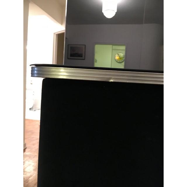 Image of Art Deco Black Velvet Bar