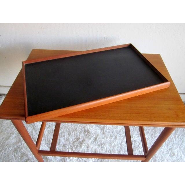 Danish Modern Mid-Century Bar Cart Table - Image 8 of 8
