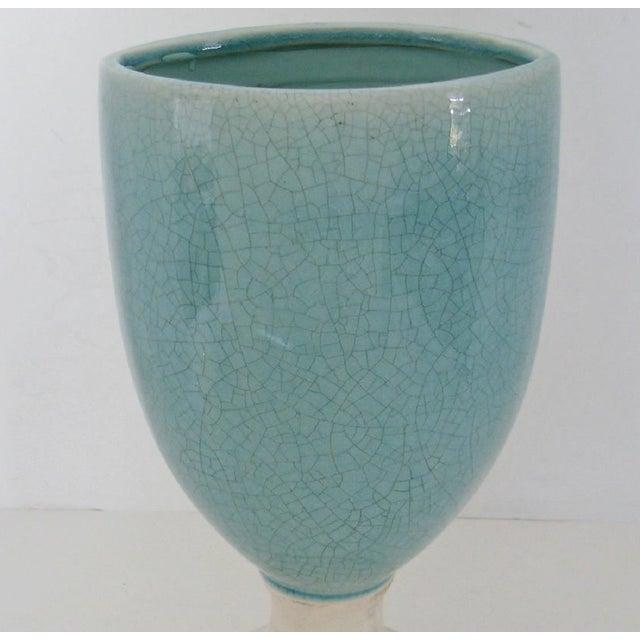 Ceramic Glazed Urn Vase - Image 4 of 6