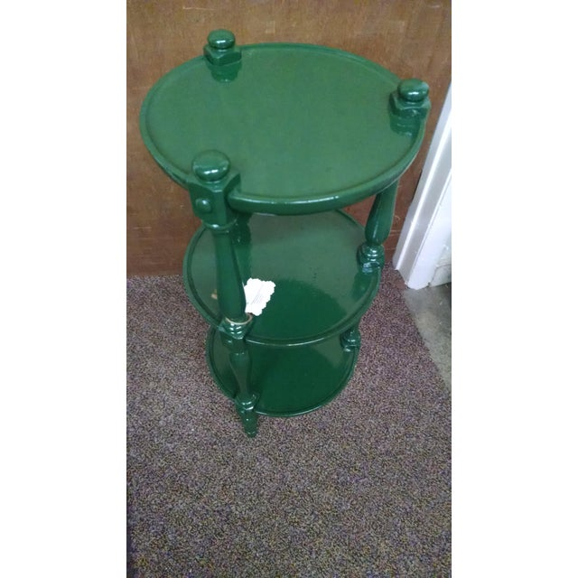 Ethan Allen Country Colors Coffee Table: Ethan Allen Lacquer Accent Table