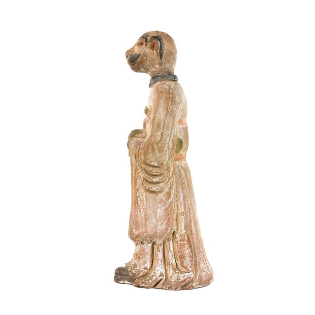 Antique Chinese Zodiac Dog Figurine - Image 3 of 9