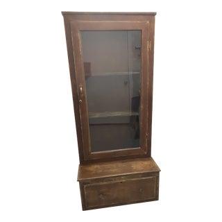 Rustic Vintage Hutch/ Display Cabinet
