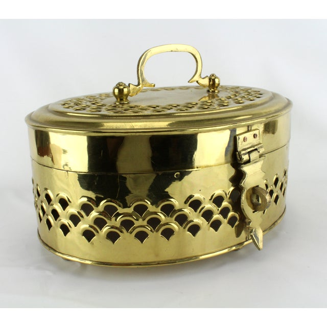 Pierced Brass Cricket Box - Image 2 of 5