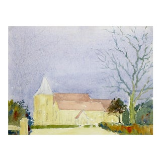 Watercolor of Church