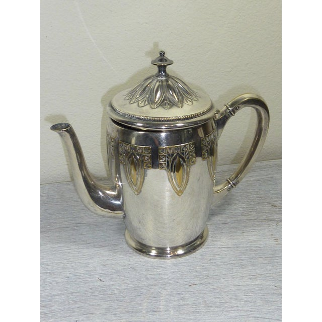 1900s Art Nouveau WMF Coffee/Tea Set - Image 5 of 11