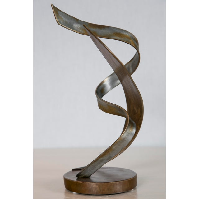 """Attraction"" Steel Sculpture by Joe Sorge - Image 5 of 8"
