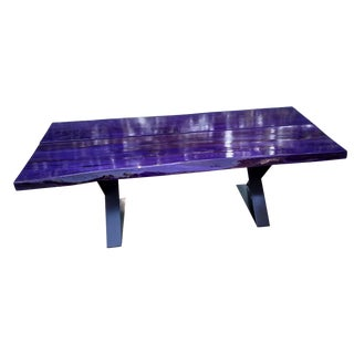 Modern Planked Table