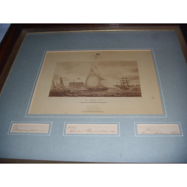 Framed Photo of The Terrible Fiona Yacht, 1899 - Image 8 of 11