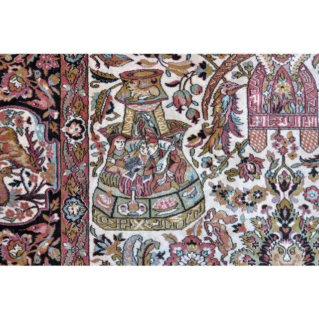 Vintage Besmer Wool Rug - 8′4″ × 11′8″ - Image 6 of 10