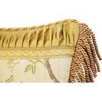 Image of Designer Scalamandre Melograno Lampas Pillow