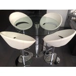 Image of 5 Piece Contemporary Counter Height Dining Set