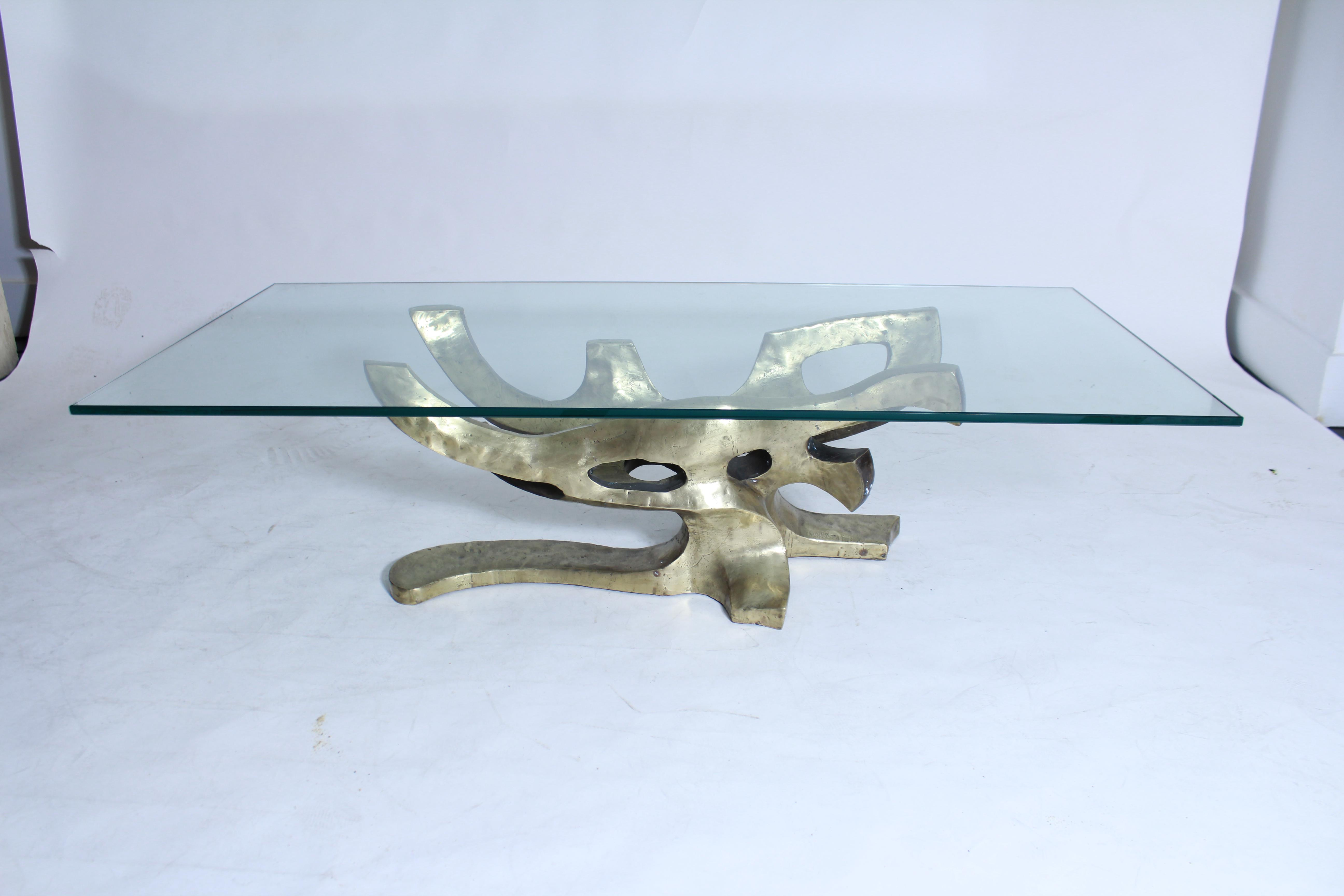 Sculptural Bronze Table Base   Image 4 Of 7