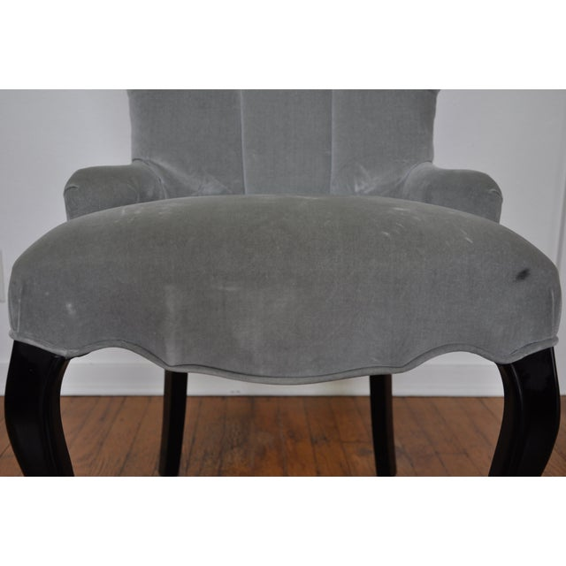 Barbara Barry for Baker Furniture Tufted Chair - Image 4 of 5