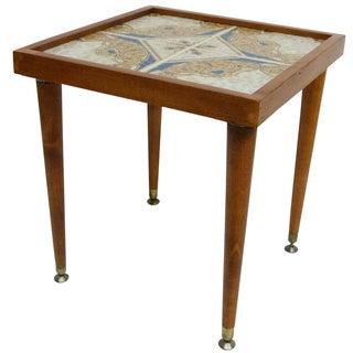 Monterrey-Style Spanish Tile Side Table