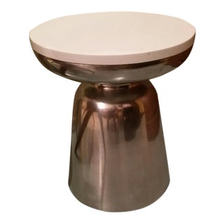 Martini Table with Custom Ceasar Stone Top