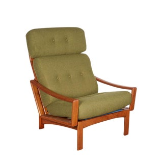 Modern Teak Club Chair