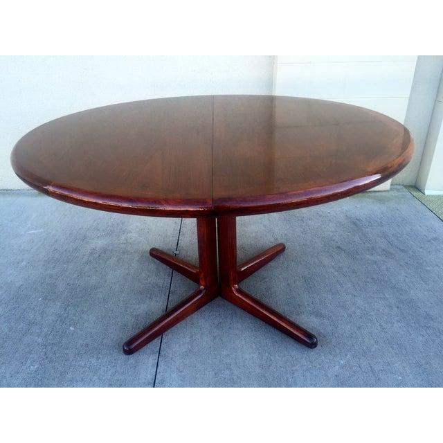 Danish Modern Teak Dining Table - Image 5 of 11