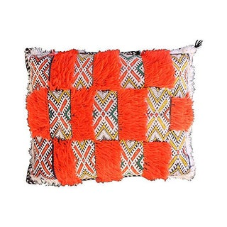 Moroccan Orange Berber Pillow Sham