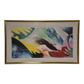 Peter Kitchell Signed Abstract Lithograph