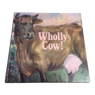 Vintage Wholly Cow Book