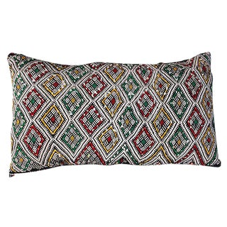 Moroccan Berber Sham With Diamond Pattern