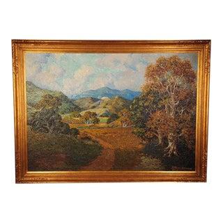 Howard Arden Edwards- Eagle Rock Canyon- California Plein Air Oil Painting c.1925