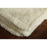 Image of Virgin Wool & Cashmere Throw Blanket