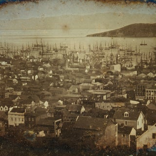 Print of 1851 Daguerrotype of San Francisco