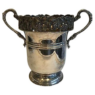 Ornate Silver Champagne Bucket