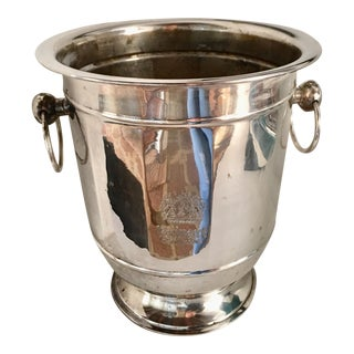 Ruinart Champagne Silver-Plated Ice Bucket