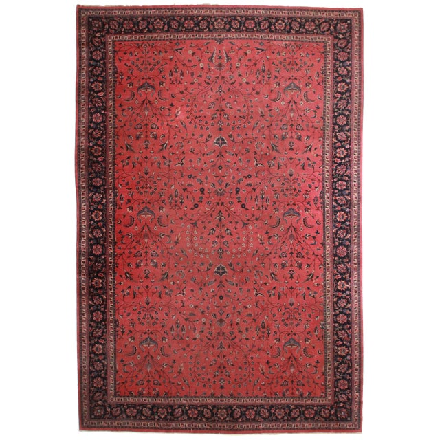 "RugsinDallas Turkish Sparta Wool Rug - 11'8"" X 17'3"" - Image 1 of 2"
