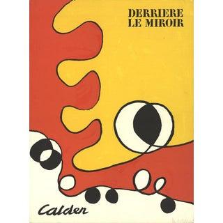 """Alexander Calder """"Derriere Le Miroir Cover 173"""" 1968 Lithograph"""