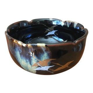 Vintage Ceramic Handmade Bowl