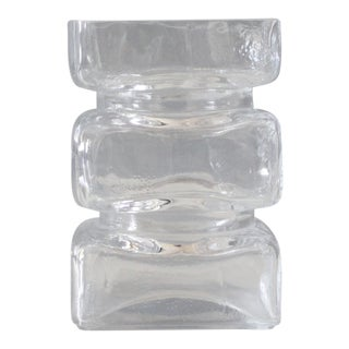Riihimaen Finland Pala Glass Vase Modernist Helena Tynell Riihimaki Lasi Oy