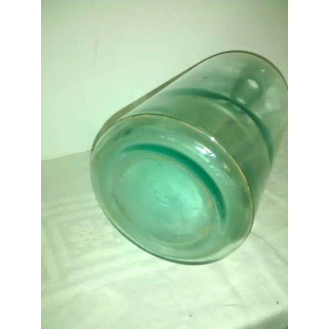 Image of Large Blue Glass Apothecary Bottle