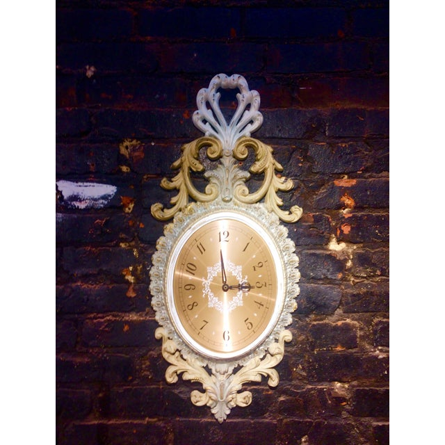 Wall Clock and Candle Sconces - Set of 3 - Image 3 of 7