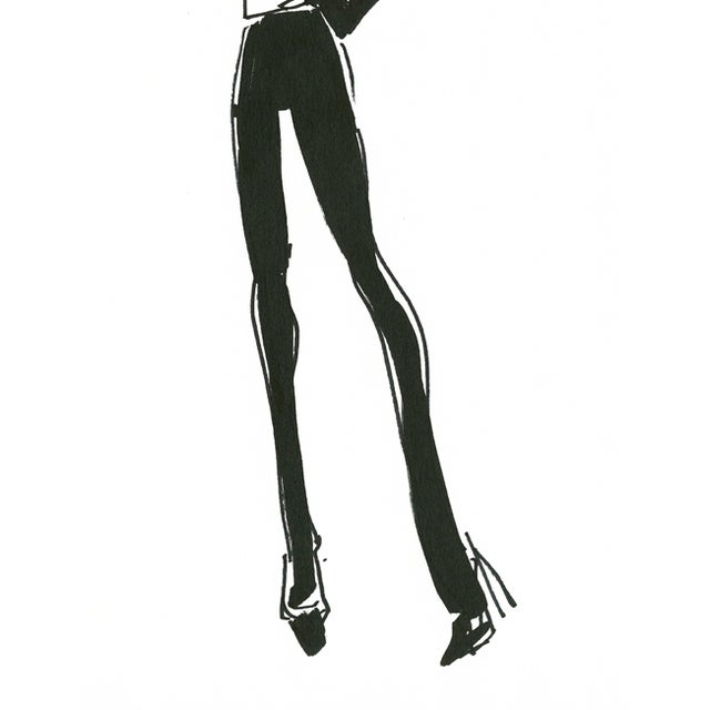 "Image of Daniela Kamiliotis ""Cheryl"" Fashion Illustration"