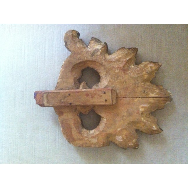 19th C. Gilt Wood French Architectural Fragment - Image 3 of 3