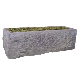 American Carved Granite Trough
